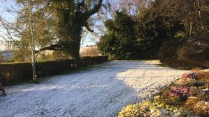 Snow in Enniskerry, Co Wicklow