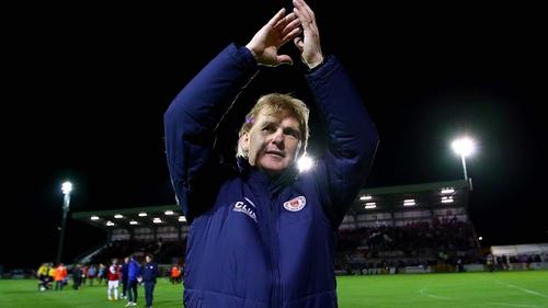 Liam Buckley has quit St Patrick's Athletic