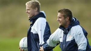 Damien Duff (L) and Stephen McPhail
