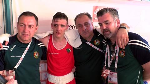Brendan Irvine Post-Fight Interview