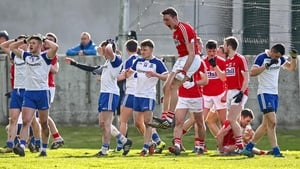 The agony and the ecstasy - Cork and Monaghan players react at the full-time whistle