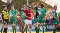 Foley perplexed by officials in Connacht defeat