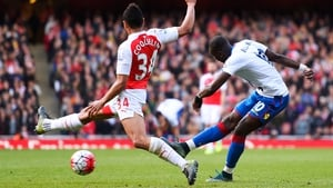 Yannick Bolasie fires home the leveller