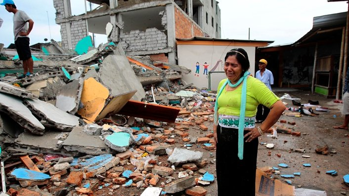 Death toll from Ecuador earthquake expected to rise