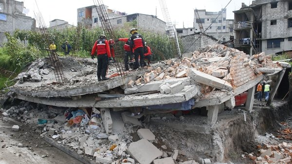 Dozens of people are still missing from the weekend earthquake