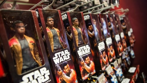 Revenue from toys targeted at boys jumped 24% to $336.9m in the first quarter