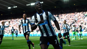 Moussa Sissoko scored Newcastle's second goal in their 3-0 win over Swansea