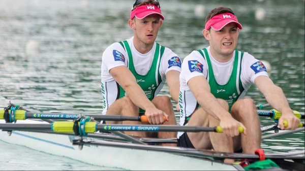 Paul and Gary O'Donovan were just edged out for gold in Italy