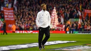 Jurgen Klopp became Liverpool manager in October