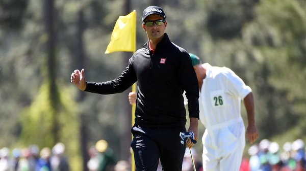 Adam Scott has 'an extremely busy playing schedule'