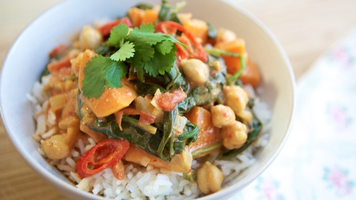 Siobhan Berry's Sweet Potato and Chickpea Curry