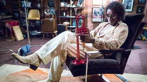 Don Cheadle nails Miles Davis' frazzled late seventies look and nicotine wheeze in Miles Ahead