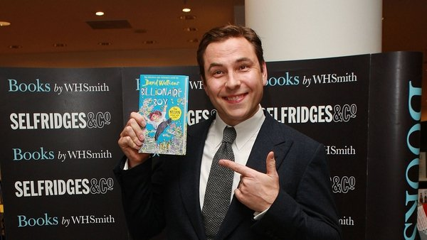 Best-selling author David Walliams to be honoured at Irish Book Awards
