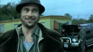 Brad Pitt as Mickey O'Neil in Snatch