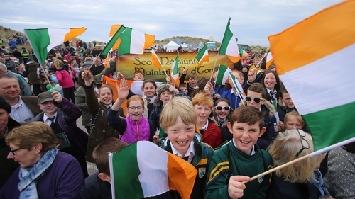 The event is part of the official 1916 commemorations