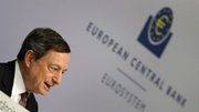 ECB President Mario Draghi said the revision of the macroeconomic projections is 'going in the right direction'