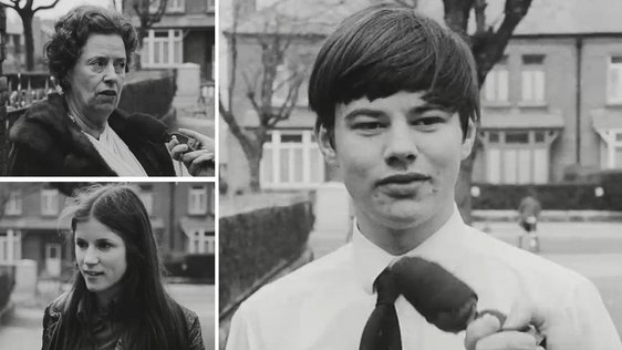 Maths vox pop 'Newsbeat' (1971)