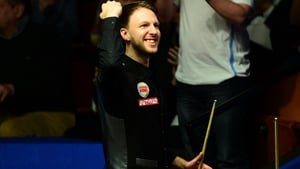 Judd Trump after his great escape