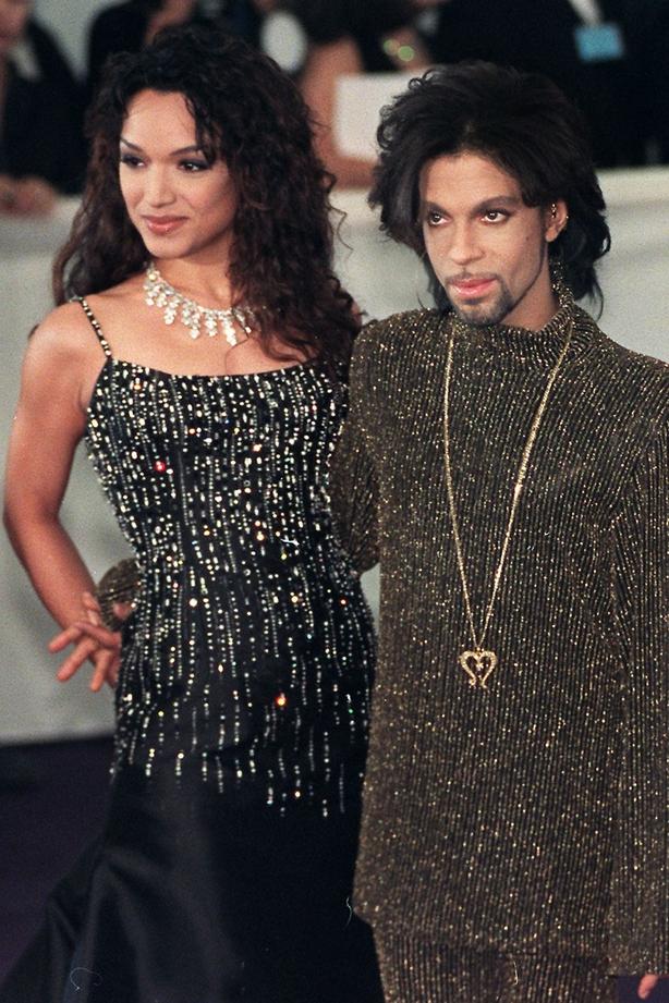 Prince with ex-wife Matye