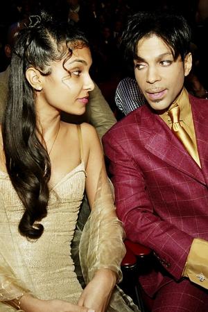 Prince with ex-wife Manuela Testolini