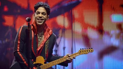 Prince made his Irish debut in Cork in 1990