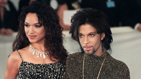 Mayte pictured with Prince