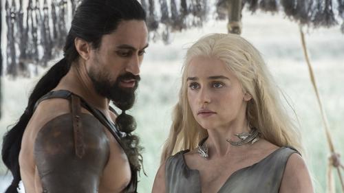 Daenerys is reunited with the Dothraki