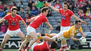 There were wins for Louth over Antrim (above) and Clare over Kildare