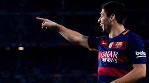 Luis Suarez is on fire for Barcelona