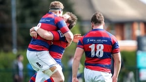Clontarf celebrate at the final whistle