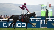 Don Cossack winning the Gold Cup at Cheltenham under Bryan Cooper