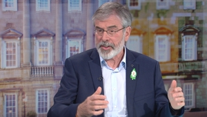 Gerry Adams said he was given the information by Austin Stack