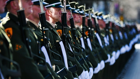 State Commemoration Of The 1916 Easter Rising: Arbour Hill Ceremony