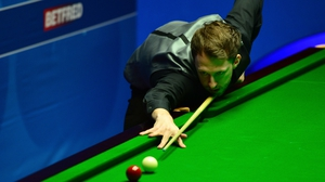 Judd Trump saw off Barry Hawkins