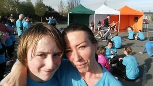 A 5km run ended at the Royal Kilmainham Hospital (Pic: Joan McHugh)
