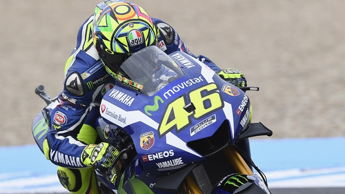 Valentino Rossi hopes to overcome 'severe pain' to compete in Italy