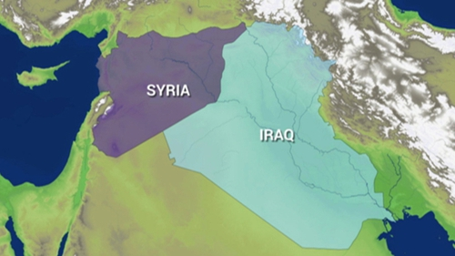 The US targeted three locations in Iraq and Syria