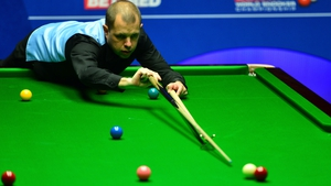Barry Hawkins will play Ben Woollaston in the second round in Berlin