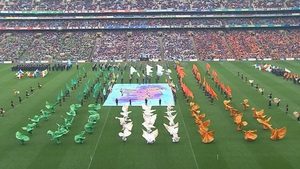 A sold-out crowd witnessed the GAA's 1916 commemorative 'Laochra' event