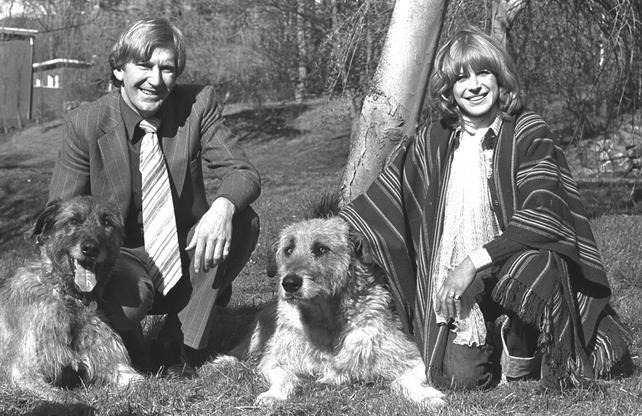 Tom McGurk and Marianne Faithfull (1976)