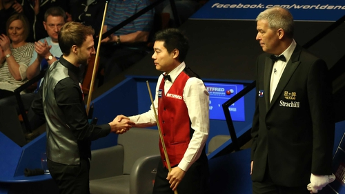 Ding Junhui and Judd Trump both struggled to find form in Sheffield