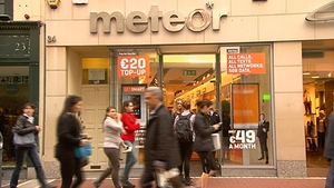 eir CEO Richard Moat said Meteor customers may not have realised they were part of a 'much bigger network'