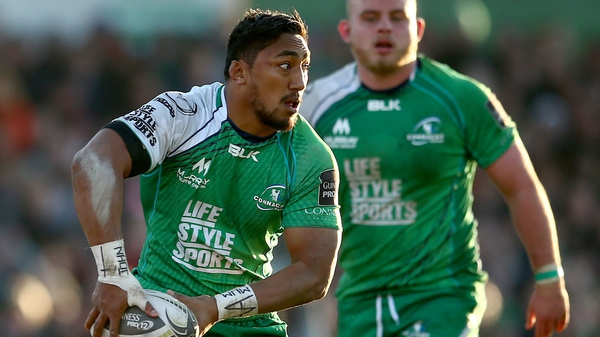 Bundee Aki faces a race against time to be fit for Connacht's Pro12 play-off campaign