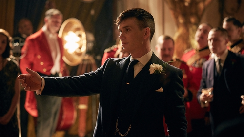 Cillian Murphy as Peaky Blinders' Tommy Shelby Photo: BBC