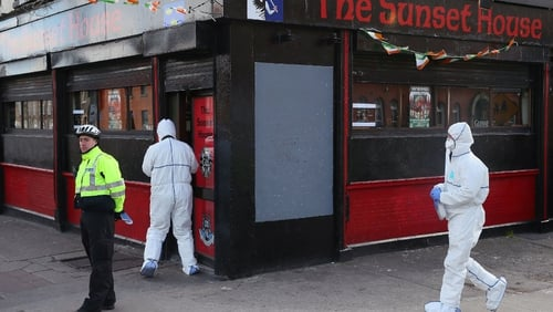 Michael Barr was shot dead in the Sunset House pub on 25 April