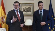 Mariano Rajoy (l) and Pedro Sanchez both say they lack support to form a government