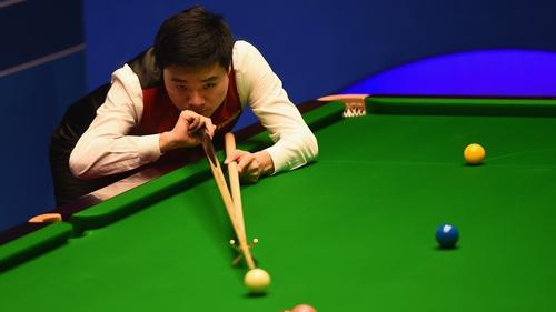 Ding Junhui of China made short work of Mark Williams' challenge