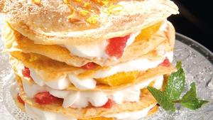 Catherine's Creamy CitrusPancake Stack