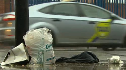 A council executive said he did not believe that rates of illegal dumping correspond to poorer areas