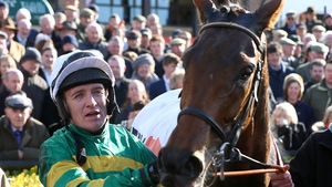 Barry Geraghty is hoping to be back in action in time for the Aintree Grand National